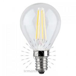 Лампа Lemanso светодиодная  G45 E14 4W 4LED 420ЛМ COB / LM390 Lemanso - 1