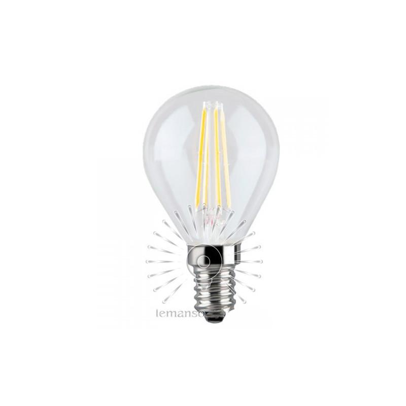 Лампа Lemanso світлодіодна G45 E14 4W 4LED 420ЛМ COB / LM390 Lemanso - 1