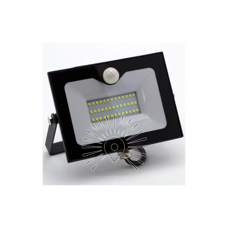 Прожектор Lemanso LED 30W 6500K IP65 2400LM / LMPS35. Датчик руху Lemanso - 2