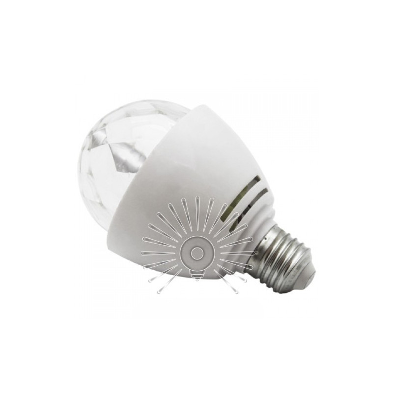 Лампа Lemanso світлодіодна СУПЕР ДИСКО E27 RGB 3W 230V / LM3027 Lemanso - 2