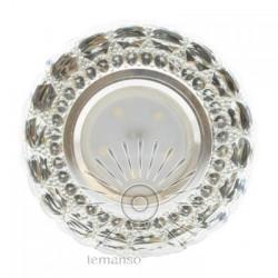 Спот Lemanso ST6315 прозрачный MR16 + подсветка 3W RGB с драйвером Lemanso - 1