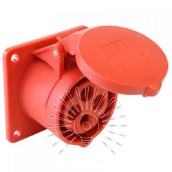 Гнездо врезное LM2009 (ГВ) Lemanso 32А/4п (3п+н) 380-415V IP44 красное Lemanso - 1