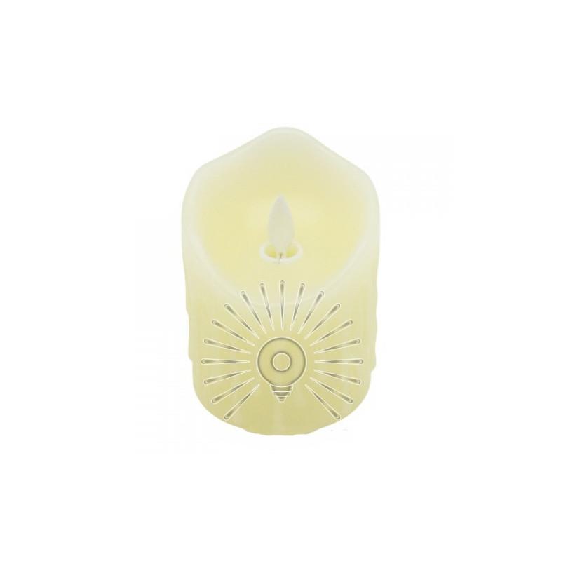 Свічка LED Lemanso 75*100мм 2700K 3xAAA (немає в компл.) IP20 / LM36001 (+ пульт, еф. Полум'я) Lemanso - 2