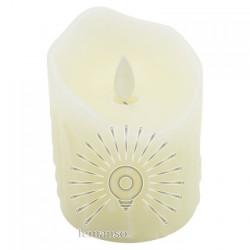 Свічка LED Lemanso 75 * 100мм RGB 3xAAA (немає в компл.) IP20 / LM36006 (+ пульт, еф. Полум'я) Lemanso - 3