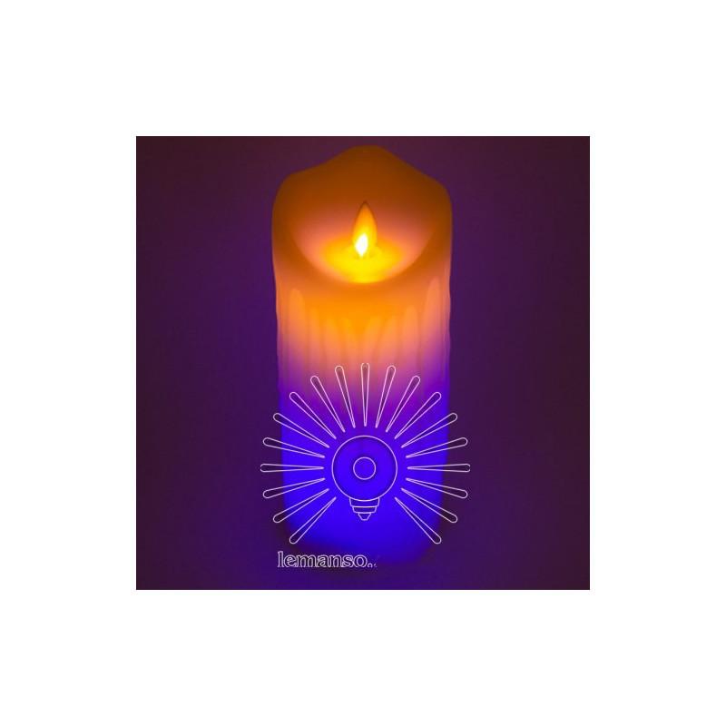 Свеча LED Lemanso 75*175мм RGB 3xAAA (нет в компл.) IP20 / LM36009 Lemanso - 2