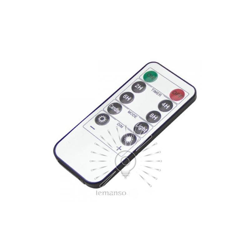 Свічка LED Lemanso 75 * 150мм 2700K 3xAAA (немає в компл.) IP20 / LM36003 (+ пульт, еф. Полум'я) Lemanso - 3