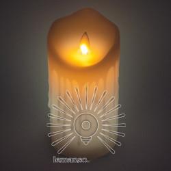 Свічка LED Lemanso 75 * 150мм RGB 3xAAA (немає в компл.) IP20 / LM36008 (+ пульт, еф. Полум'я) Lemanso - 6