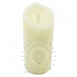 Свічка LED Lemanso 75 * 175мм 2700K 3xAAA (немає в компл.) IP20 / LM36004 (+ пульт, еф. Полум'я) Lemanso - 2