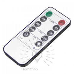 Свічка LED Lemanso 75 * 175мм 2700K 3xAAA (немає в компл.) IP20 / LM36004 (+ пульт, еф. Полум'я) Lemanso - 3