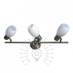 Спот Lemanso ST140-3 потрійний E14 / 40W матовий хром Lemanso - 1
