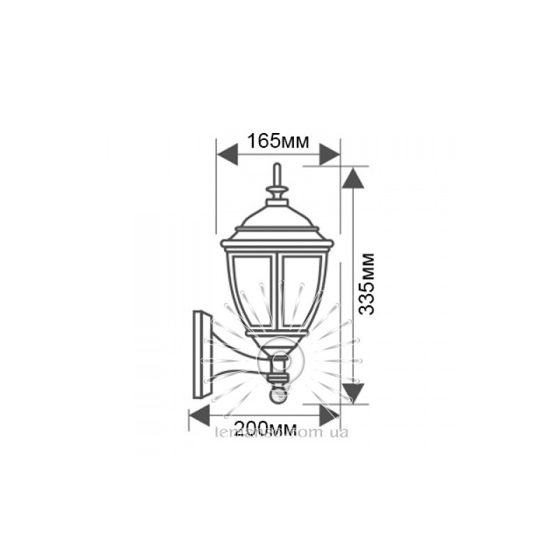 Світильник вуличний Lemanso PL5101 60W Lemanso - 3