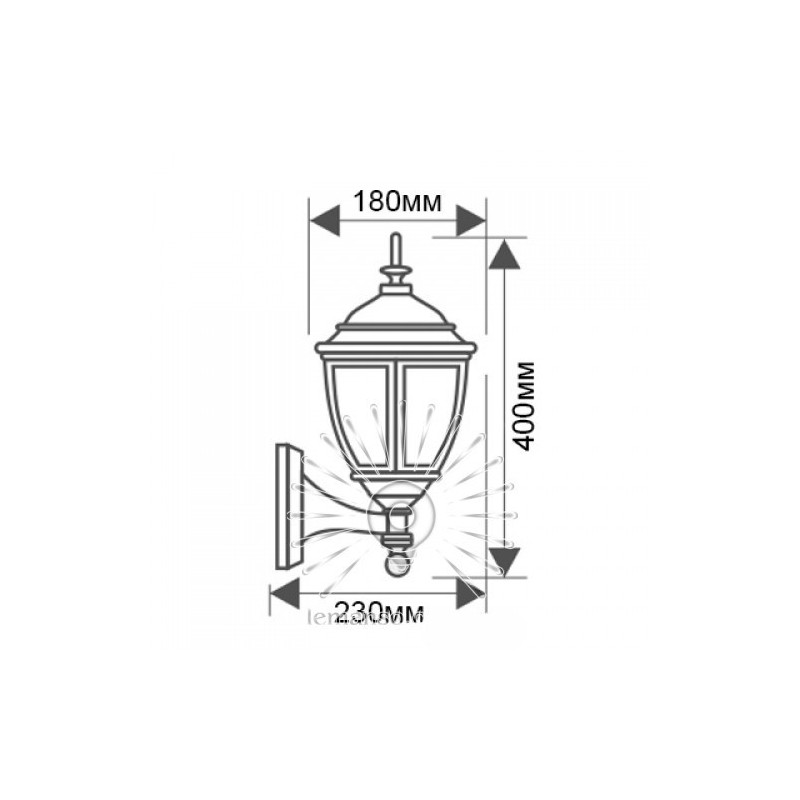 Світильник Lemanso PL5201 E27 100W Lemanso - 3