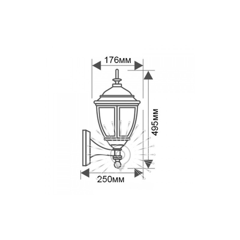 Світильник Lemanso PL6660 100W E27 Lemanso - 3