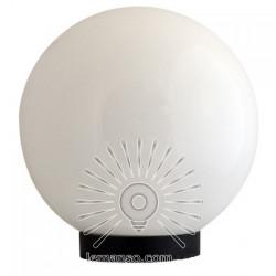 Шар диаметр 250 белый Lemanso PL2104 макс. 40W + база с E27 Lemanso - 1