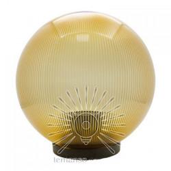 Шар диаметр 250 золотой призматический Lemanso PL2104 макс. 40W + база с E27 Lemanso - 2