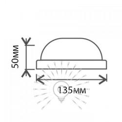 """Світильник LED Lemanso 12W коло білий 180-265V 6500K 900LM """"Глобус"""" IP65 / LM901 Lemanso - 2"""