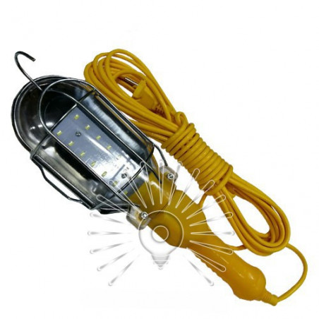 Переноска гаражна LED 7W 600Lm 10м жовта Lemanso / LMA312 Lemanso - 1