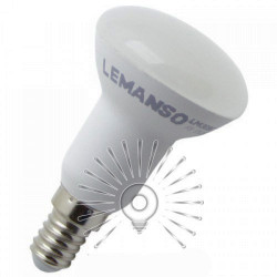 "Лампа Lemanso светодиодная R50 7W 570LM 175-265V E14 ""ЛЮКС""/ LM3096 Lemanso - 1"