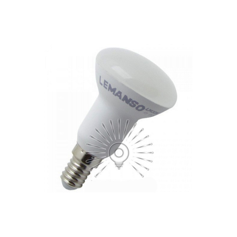 "Лампа Lemanso світлодіодна R50 7W 570LM 175-265V E14 ""ЛЮКС"" / LM3096 Lemanso - 1"