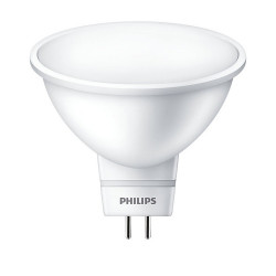 Светодиодная лампа Essential MR16 LED spot 5-50W 120D 220V Philips - 1