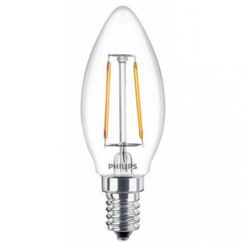 Светодиодная лампа LED Philips LEDClassic 4-40W B35 E14 865 CL ND APR (929001975608) Philips - 1