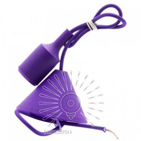 """Підвісний світильник пластик Lemanso """"V-подібний"""" + E27 1м / LMA072 Lemanso - 1"""