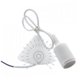 """Підвісний світильник пластик Lemanso """"V-подібний"""" + E27 1м / LMA072 Lemanso - 5"""