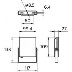 Прожектор Philips 10W 800Lm BVP131 Led8 Philips - 2