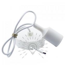 Підвіс силіконовий Lemanso 100 * 25мм2 + E27 1м / LMA073 для LED ламп Lemanso - 2