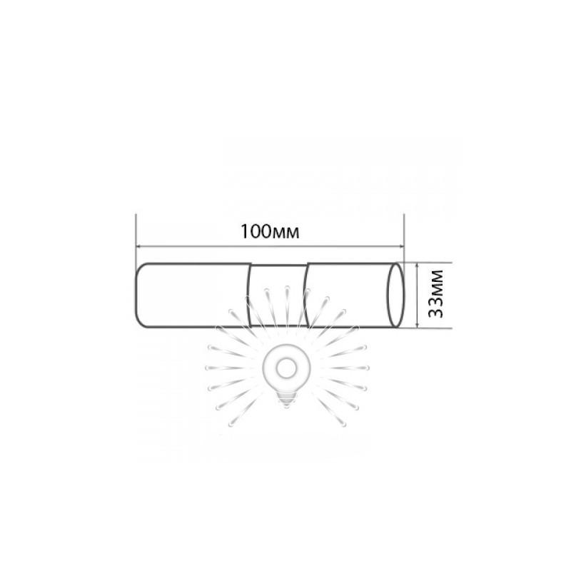 Фонарик LEMANSO 14 LED чёрный / LMF32 алюминий Lemanso - 4