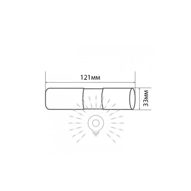 Фонарик LEMANSO 14 LED чёрный / LMF34 алюминий Lemanso - 4
