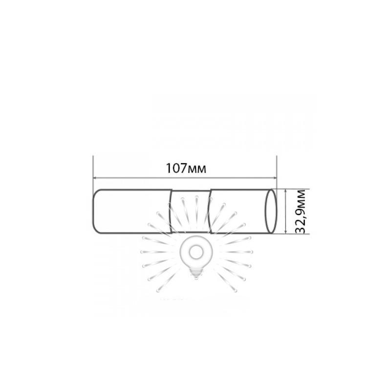 Ліхтарик LEMANSO 1W Lumen чорний / LMF36 алюміній Lemanso - 2
