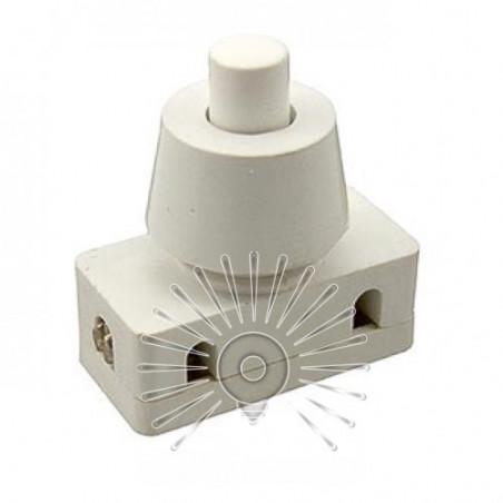Кнопка Lemanso LSW10 біла для лампи / PBS-18 Lemanso - 1
