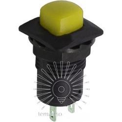 Кнопка Lemanso LSW12 квадрат чёрная с фикс. ON-OFF/ DS-226 Lemanso - 5
