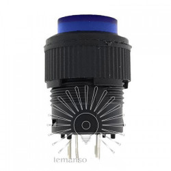 Кнопка Lemanso LSW13 круглая с LED подсветкой ON-OFF/ R16-503AD Lemanso - 1