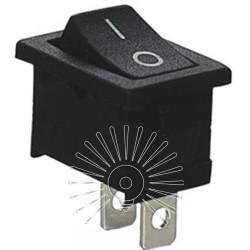 Переключатель Lemanso LSW08 малый чёрный / KCD1-101-1 Lemanso - 1