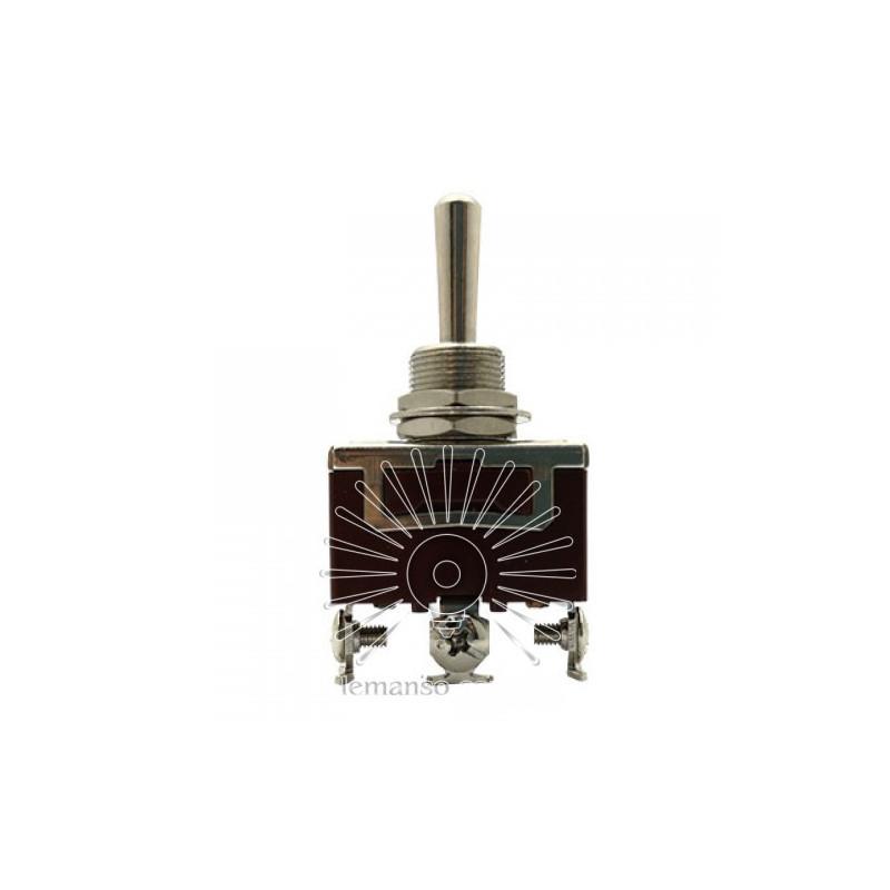 Тумблер Lemanso LSW22 3pin + гвинти 2 полож. ON-ON / KN3 C-102 Lemanso - 1