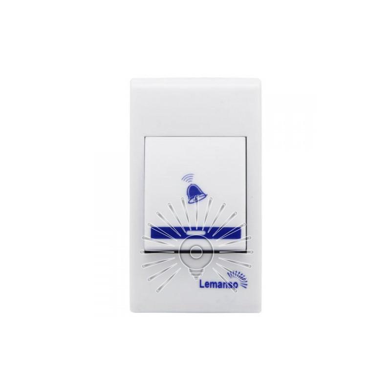 Дзвінок Lemanso 230V LDB45 білий з синім Lemanso - 4