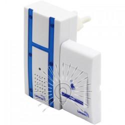 Дзвінок Lemanso 230V LDB48 білий з синім Lemanso - 2