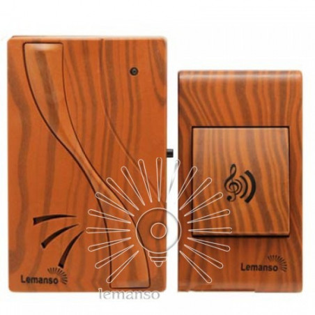 Дзвінок Lemanso 230V LDB51 вишня Lemanso - 1