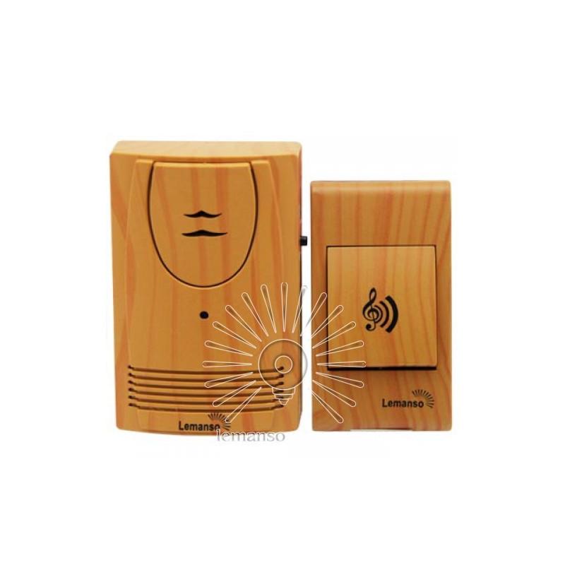 Дзвінок Lemanso 230V LDB50 вільха Lemanso - 1