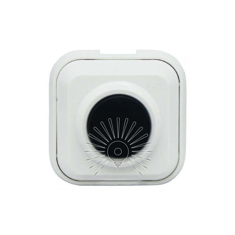Кнопка дзвінка Lemanso LDB37 біла Lemanso - 1
