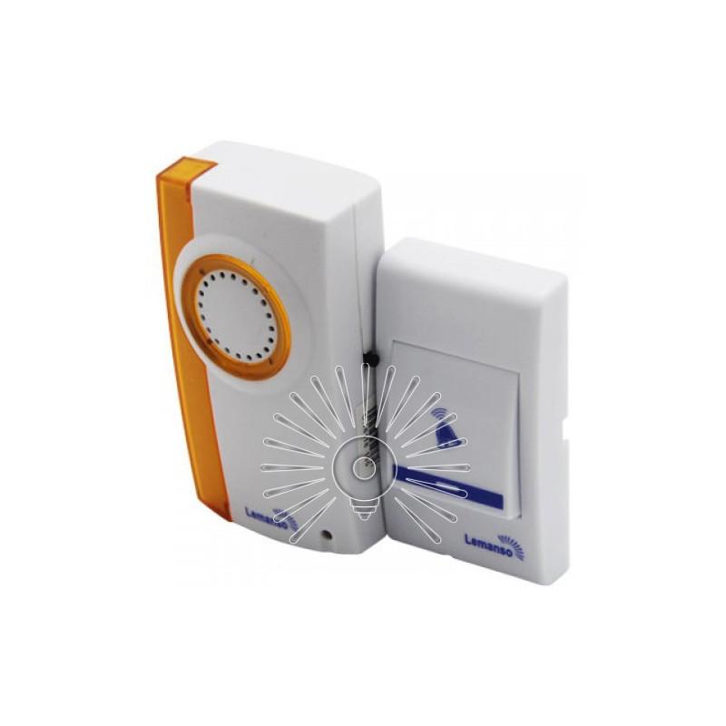 Дзвінок Lemanso 12V LDB42 білий з помаранчевим Lemanso - 2