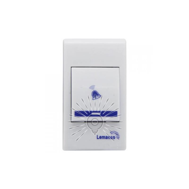Дзвінок Lemanso 12V LDB42 білий з помаранчевим Lemanso - 4