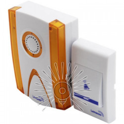 Звонок Lemanso 12V LDB43 белый с оранжевым Lemanso - 1