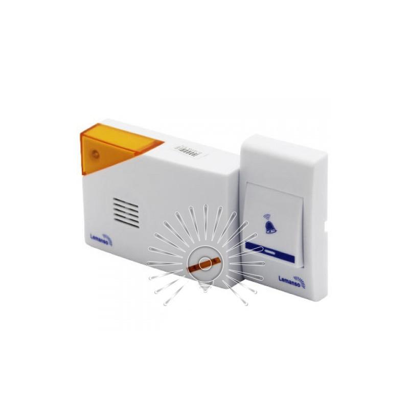 Дзвінок Lemanso 12V LDB39 білий з помаранчевим Lemanso - 2