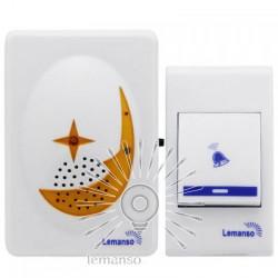 Дзвінок Lemanso 12V LDB40 білий з помаранчевим Lemanso - 2