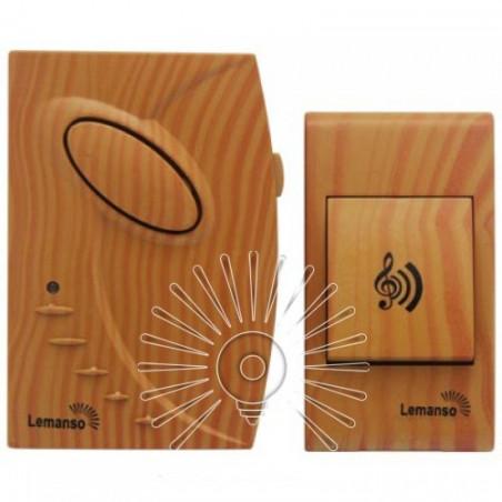 Дзвінок Lemanso 12V LDB52 вільха Lemanso - 2