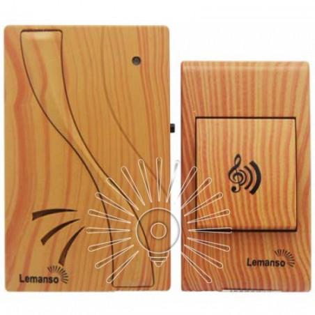 Дзвінок Lemanso 12V LDB53 вільха Lemanso - 1