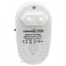 Дзвінок Lemanso 230V LDB46 білий з синім Lemanso - 3